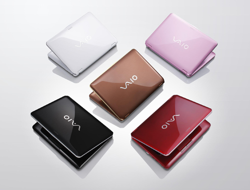 Sony Vaio - thích hợp với các bạn nữ