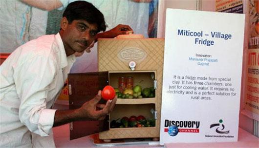 Mitticool – Tủ lạnh đặc biệt làm từ đất sét