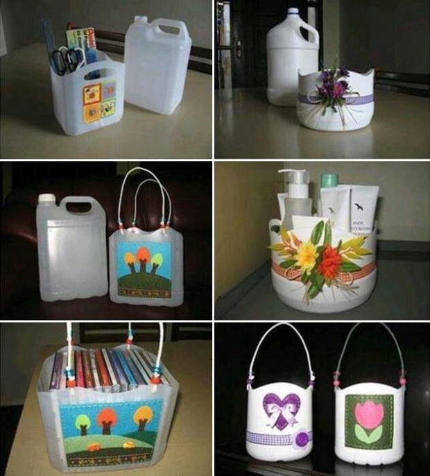 Tận dụng làm túi đựng đồ hoặc túi xách