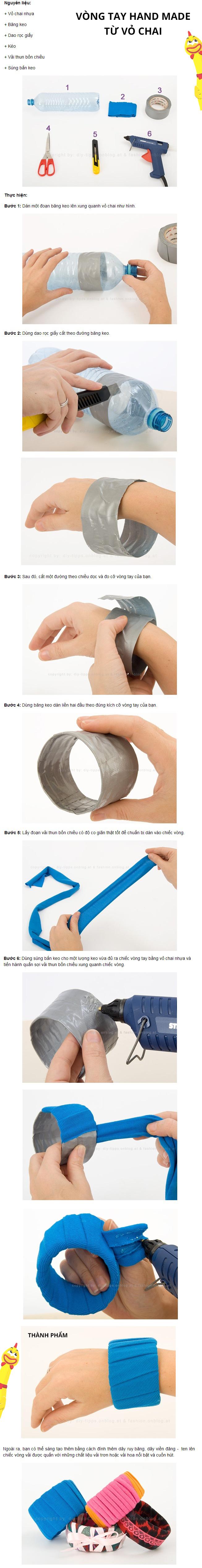 Làm vòng đeo tay cực kool