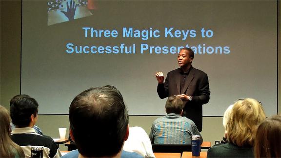 hãy chọn ra ba ý tưởng quan trọng mà chúng ta muốn trình bày và giới thiệu, đừng nhiều hơn số ấy