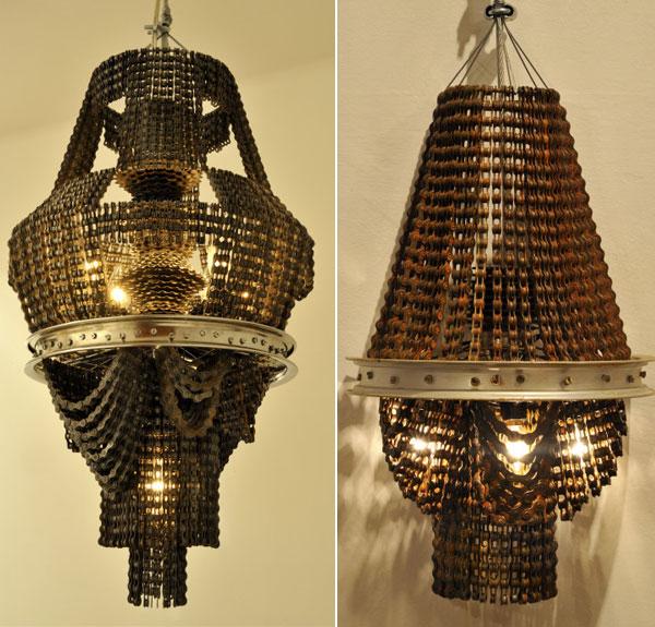 Đèn chùm - thiết kế bởi Carolina Fontoura