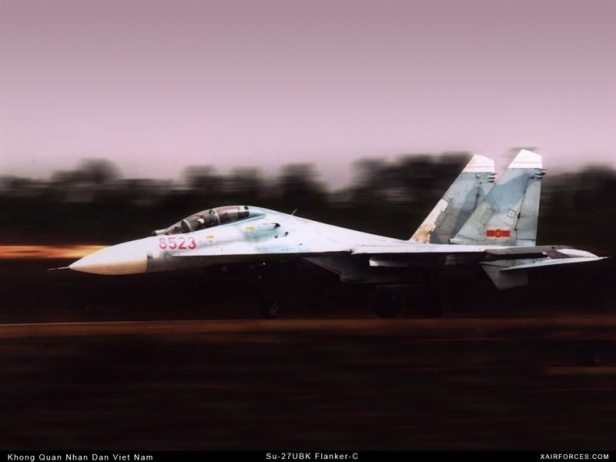 Su-27SM là biến thể nâng cấp hiện đại của Su-27S, hiện tại chỉ phục vụ trong Không quân Nga. Su-27SM có buồng lái hiện đại, màn hình hiển thị LCD đa chức năng thay thế cho đồng hồ số, trang bị radar mạng pha quét điện tử thụ động, động cơ nâng cấp AL-31FM1.