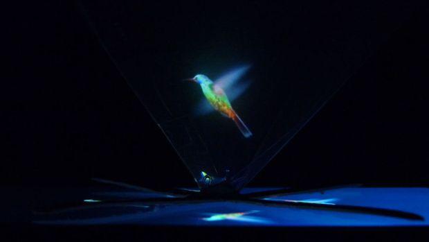 Kim tự tháp phát hình 3D. Nguồn: http://www.instructables.com