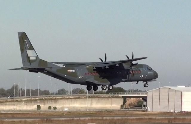 Máy bay vận tải C-295 của quân đội Việt Nam