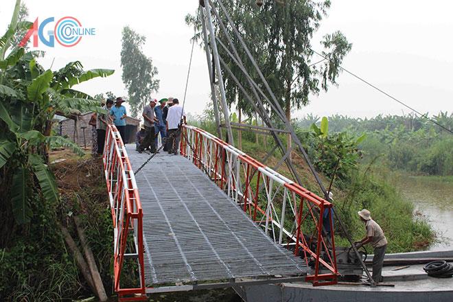 Ráp nối 2 nhịp cầu