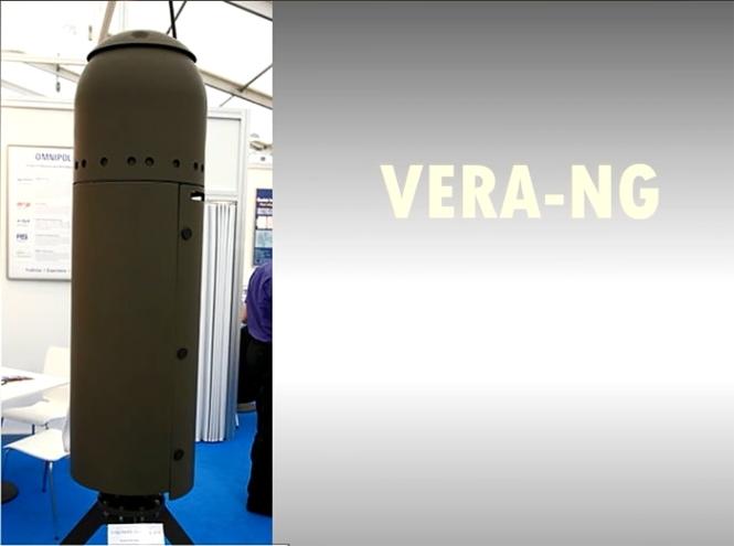Đặc tính kỹ chiến thuật của tổ hợp trinh sát thụ động Vera-NG: Dải tần hoạt động: 88 MHz - 18 GHz; Cự ly trinh sát: 400 km với sai số 20 m; Số mục tiêu có thể bám sát cùng lúc 200 mục tiêu.