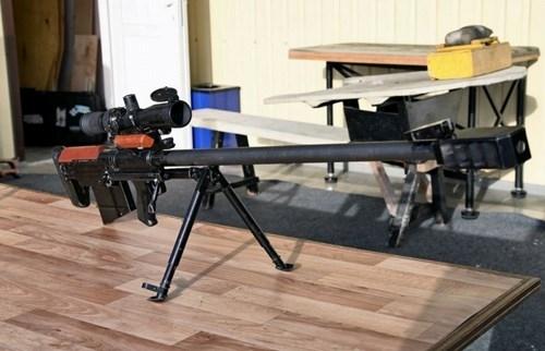 Súng 12,7mm là sản phẩm của Viện nghiên cứu vũ khí, Tổng Cục công nghiệp quốc phòng.