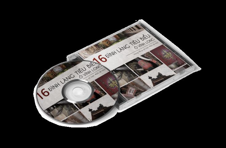 Đĩa DVD về phim của 16 đình làng tiêu biểu và lễ cúng thượng điền của 2 đình.